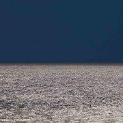 Foto Mare - Mare e cielo. Nome dell'opera: Golfo di Gagliari, 2013 - Trittico Mare Cielo N°3 30x30cm - Luca Tamagnini Catalogo 2013-026B - (Immagini Mare / Album Italia)