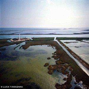 Delta del Po, Faro di Pila dal cielo
