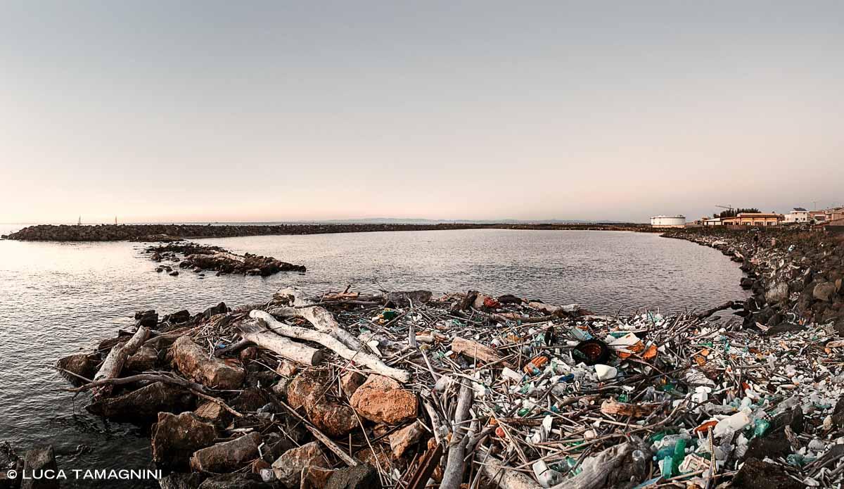 Fiumicino, rifiuti del mare / Luca Tamagnini Catalogo 2020-006