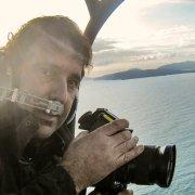 Luca Tamagnini luca in elicottero Alghero 2008