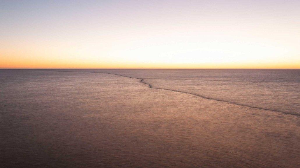 Il Mare alla Foce del Tevere dal Faro di Fiumicino / Luca Tamagnini Catalogo 2021-006