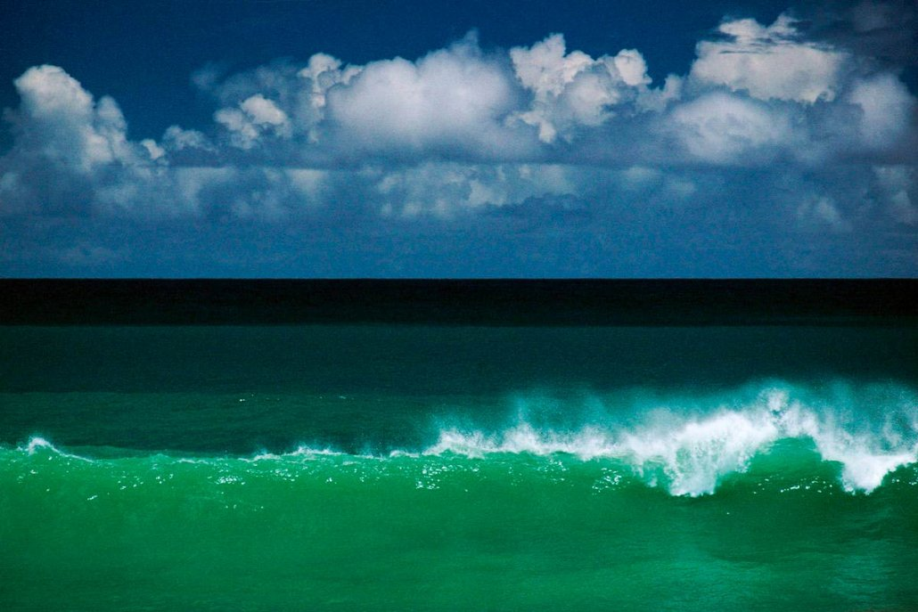 Ernst Haas - Tobago Wave, Caribbean, 1968