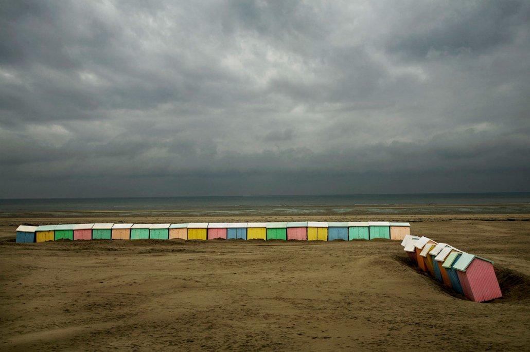 Harry Gruyaert / Magnum Photos - Berck Beach, France, 2007