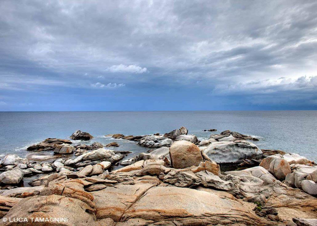 Capo Carbonara, Punta Santo Stefano, scogli e mare / Luca Tamagnini Catalogo 2013-007