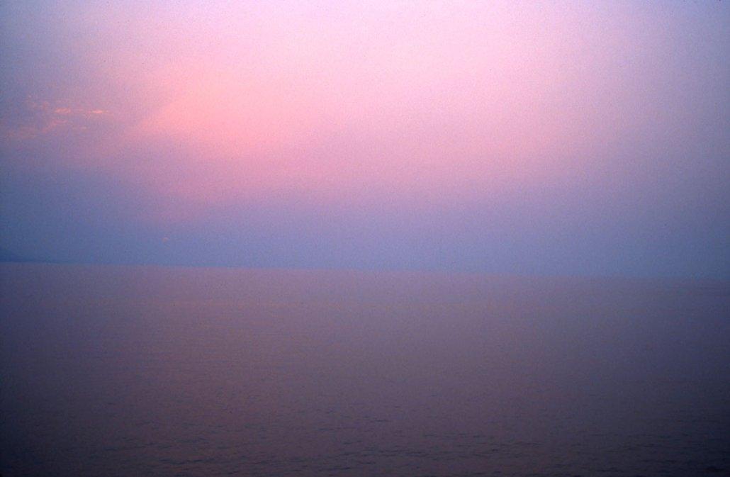Nan Goldin - Seascape at sunset, Camogli, Italy, 2000