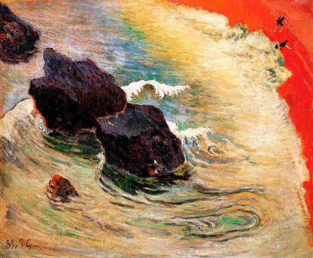 Paul Gauguin, L'onda (1888), collezione privata, New York