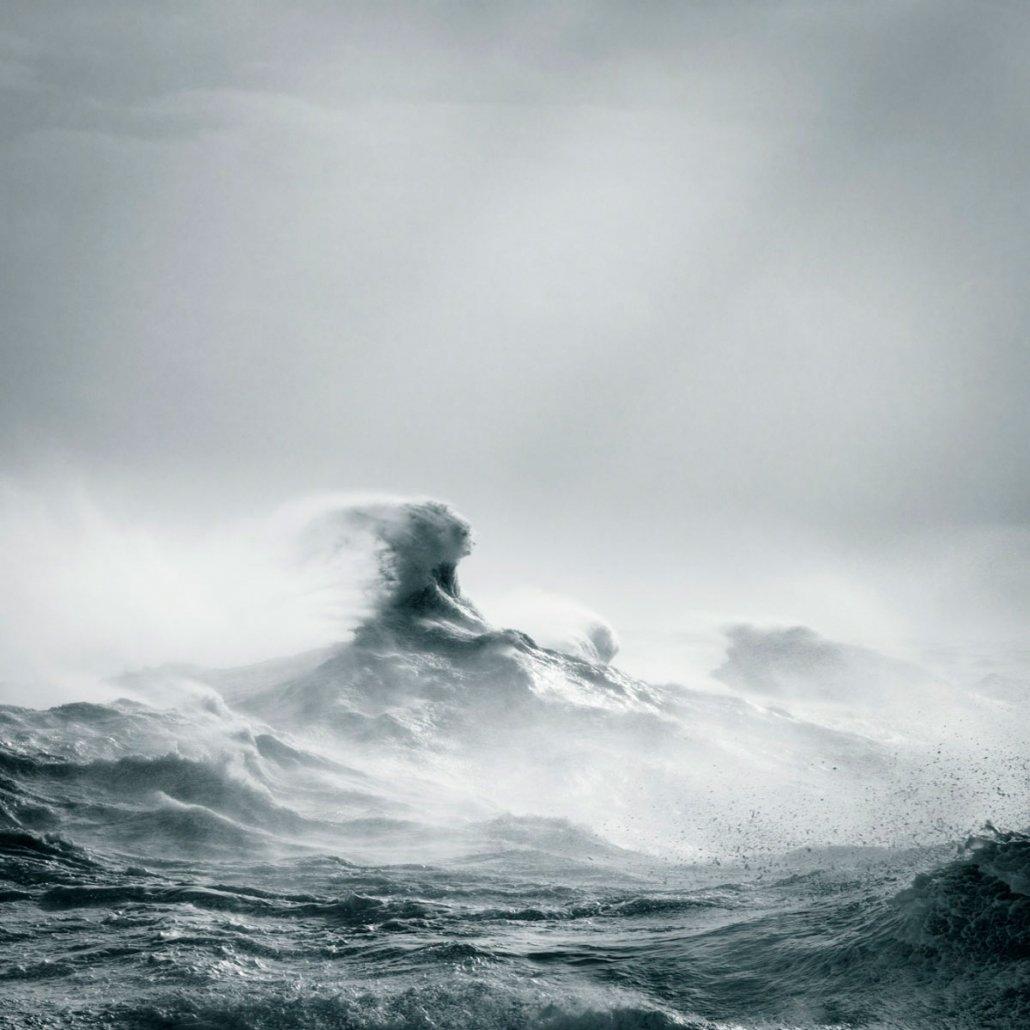 Paesaggio marino di Rachael Talibart - Poseidon Rising, 2016