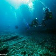 Foto Alghero / Area Marina Protetta di Capo Caccia - Isola Piana / Foto Subacquee di Luca Tamagnini Fuori Catalogo / Fondali di Punta Giglio con subacquei