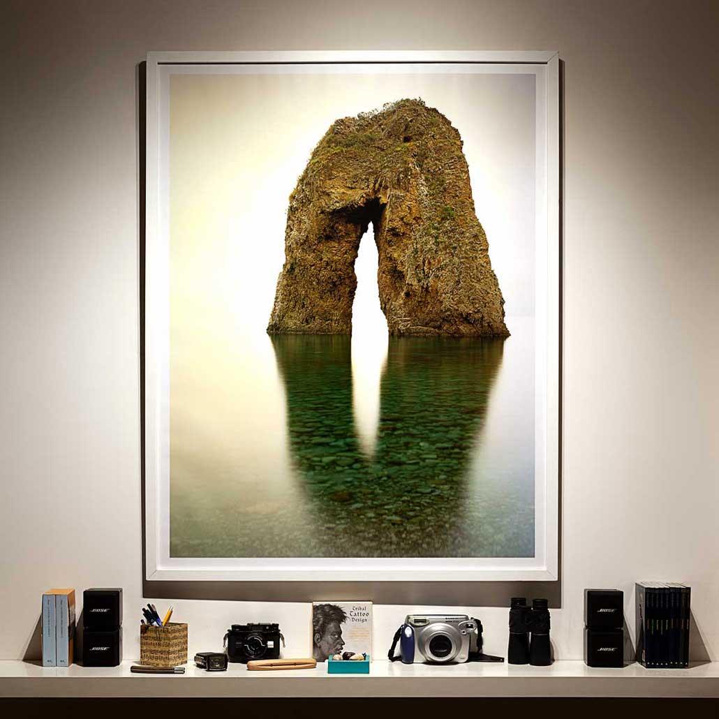 Isola di Ponza, Arco Spaccapolpi, 2018 / Foto Fine Art 100 x 130 cm / Luca Tamagnini Catalogo 2018-001 / Catalogo Foto Ponza
