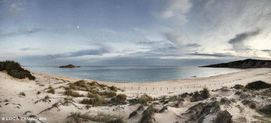 Foto Mare Sardegna / Chia, Spiaggia di Su Giudeu, 2019 / 110 x 50 cm / Luca Tamagnini Catalogo 2019-010