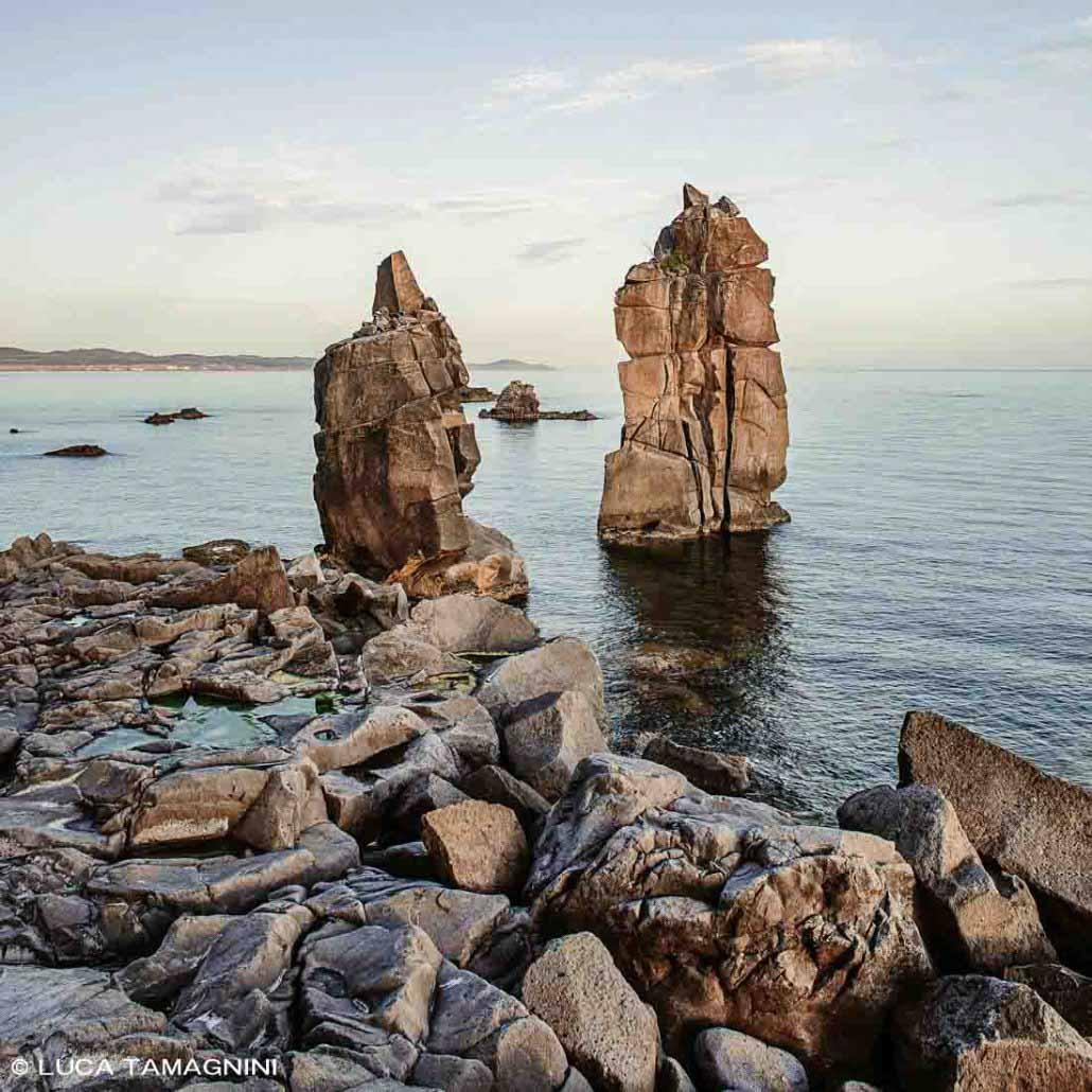 Foto Mare Sardegna / Isola di San Pietro, 2009, Le Colonne / Luca Tamagnini Catalogo 2009-004B