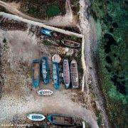 Foto Mare Sardegna / Isola di San Pietro, 2021, Tonnara di Carloforte dal cielo / Luca Tamagnini Catalogo 2021-020